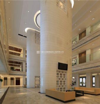 现代风格周口招商大厦办公室装修案例图鉴