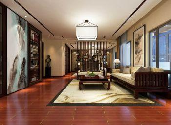 新中式联排别墅设计图