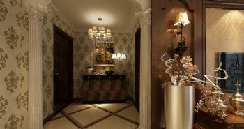 宋都南郡装修效果图美式风格三居室