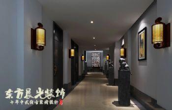 陕西会所中式装修设计项目