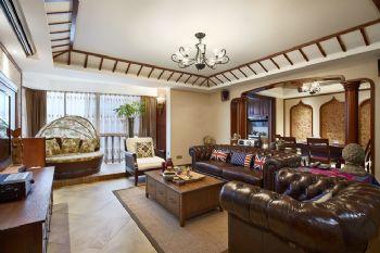 东南亚风格四居室装修案例