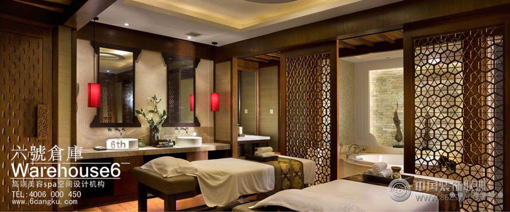 美容会所装修效果图-美容spa会所设计