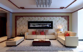 新中式二居设计图片