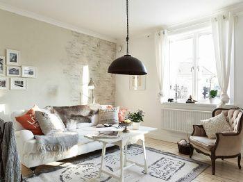 北欧风格公寓装修效果图