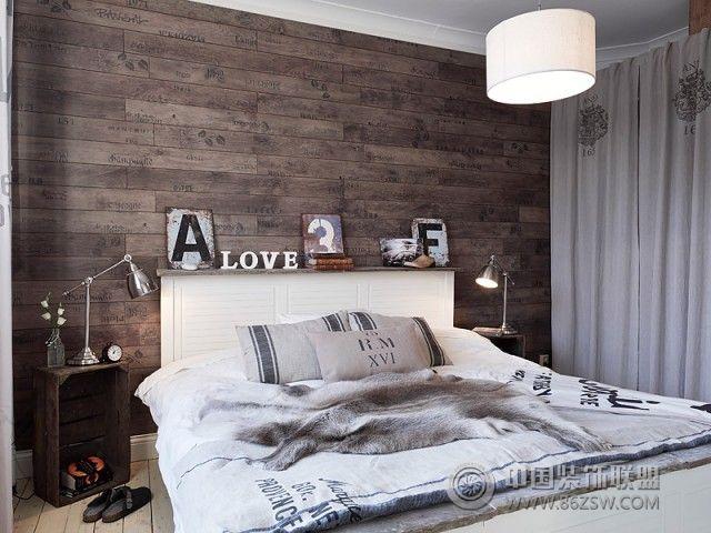北欧风格公寓装修效果图-卧室装修图片