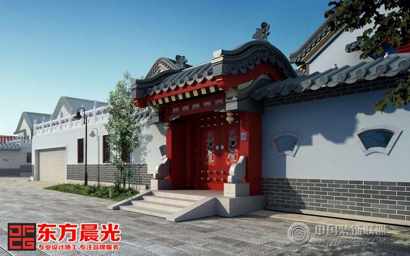 古建四合院的木结构展示着中国传统工艺的精湛