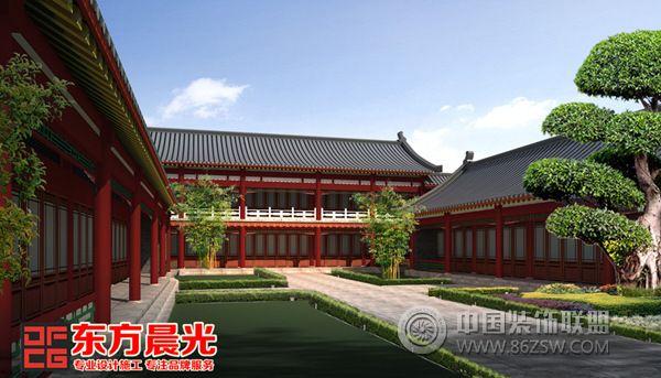 四合院装修中式仿古设计-其它装修效果图-八六(中国)