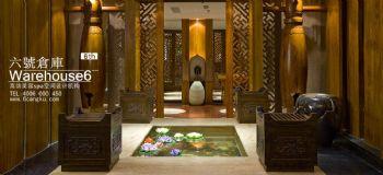 东南亚装修效果图-养生馆装修效果图-北京软装设计