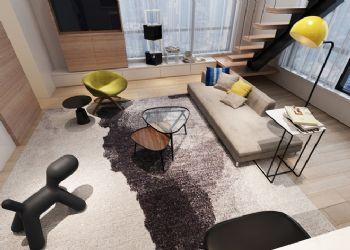 北欧风情loft设计图欣赏