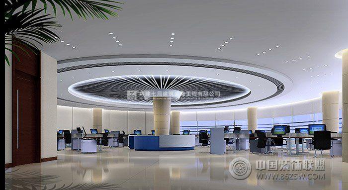国际化金融企业银行办公室装修案例-办公室装修图片