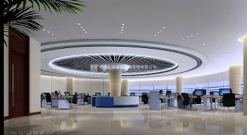 国际化金融企业银行办公室装修案例