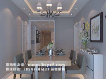 慧谷蓝庭现代风格三居室