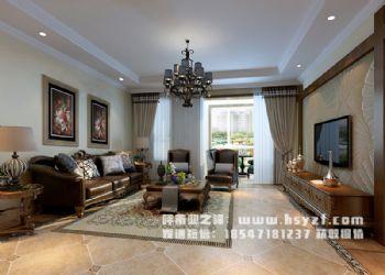 慧谷蓝庭183平米 美式美式风格四居室