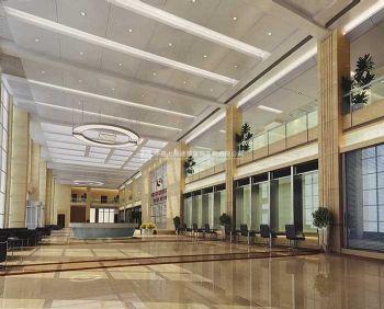 优雅质朴的现代简约风格办公楼装修案例