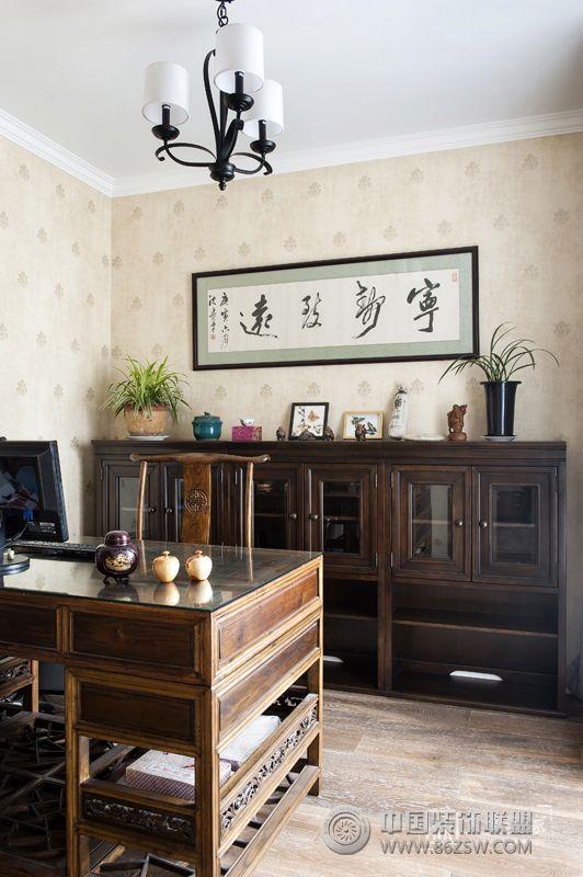 南京美式混搭别墅家居装饰效果图中航樾府别墅别墅复式万30房子图片