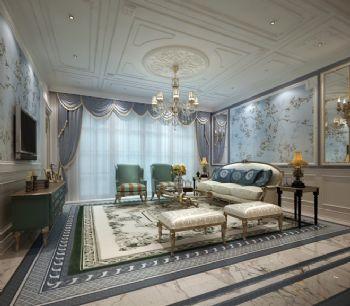 法式奢华三居装修设计欣赏