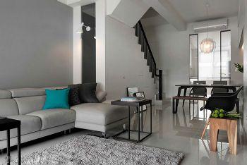 宁静简约保利海上五月花143平方两室两厅效果图现代简约风格三居室