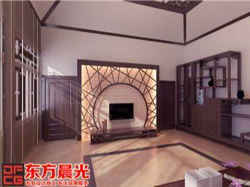 北京马女士家中式室内装修设计方案中式风格大户型