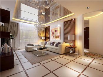 经典现代风格三居设计案例