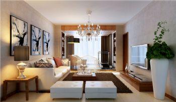 现代三居装修设计图