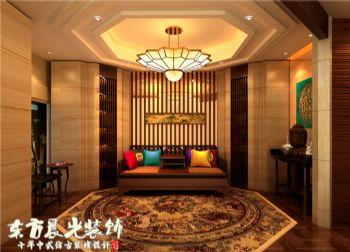 中式家装设计四合院装修中式风格别墅