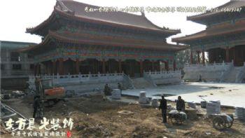 北京大型四合院古建筑装修施工项目