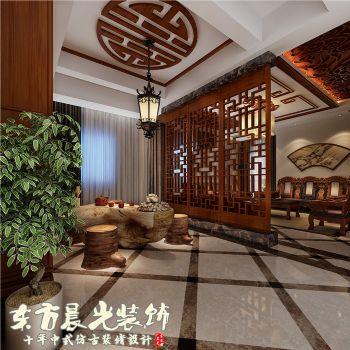 靈活精巧的四合院別墅設計空間