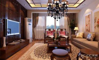 中式三居装修设计图片