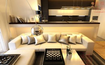 89平米现代风格两居设计案例