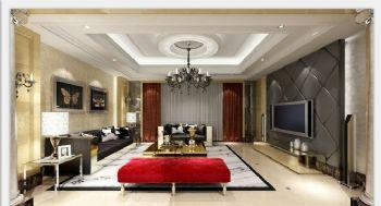 110平米简欧风格三居设计案例
