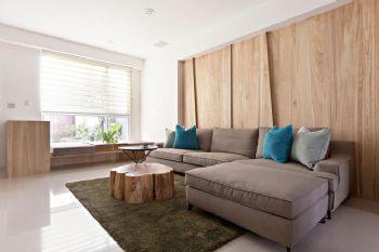 现代温润三居装修设计案例