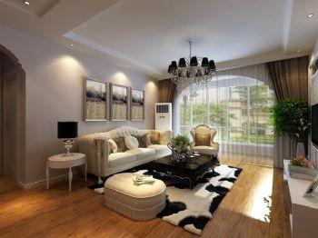简欧风格三居室装修设计图