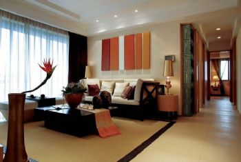 东南亚风格大户型设计案例