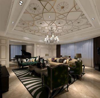 保利西岸新古典别墅设计案例