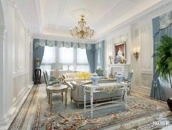 法式风格别墅设计案例欣赏