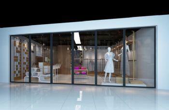 現代風格服裝店設計圖片