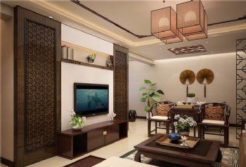 新中式风格三居设计图