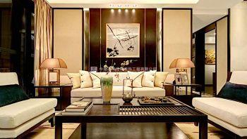 原汁原味的中国风采-鑫苑鑫城新中式风格装修效果图现代风格三居室