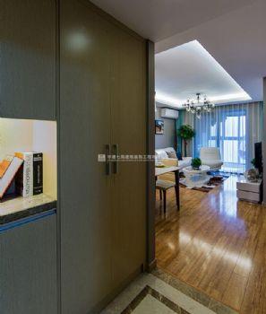 89平方温馨小家-保利上海五月花现代风格小户型
