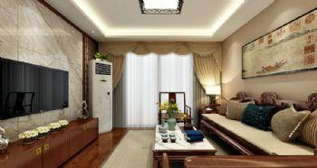 南京江月府115平方装修案例-南京一号家居网