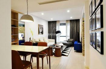 迎宾路三号96平方三室两厅时尚简约效果赏析现代风格小户型