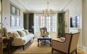 橄榄城伍号院141平方简欧风格装修效果图赏析欧式风格三居室