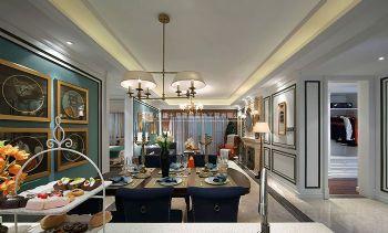 后现代时尚风格正商红河谷139平方三居室装修效果图现代风格三居室