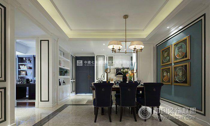 谷139平方三居室装修效果图 类型:家装风格:现代风格 空间:客厅面积