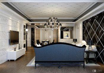 后現代130平米三房二廳二衛簡潔裝修效果圖