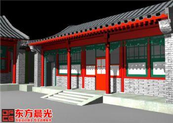 中式设计手法打造细腻四合院装修中式风格大户型