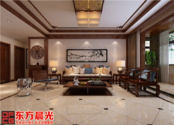 淡然中式风别墅室内装修设计中式风格别墅