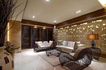 东南亚风格三居室装修效果图