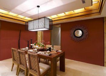東南亞風格三居室裝修效果圖東南亞餐廳裝修圖片