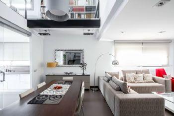灰白色淡雅家居空间设计